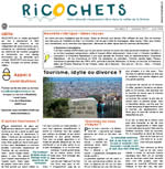 Ricochets : journal local, média version papier - Num. 2 - oct 2017 - couleur {PDF}
